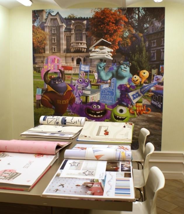 Instalación Fotomural Infantil Monsters