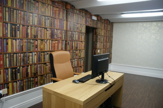 Decoración Despachos Papel Pintado Andrew Martin