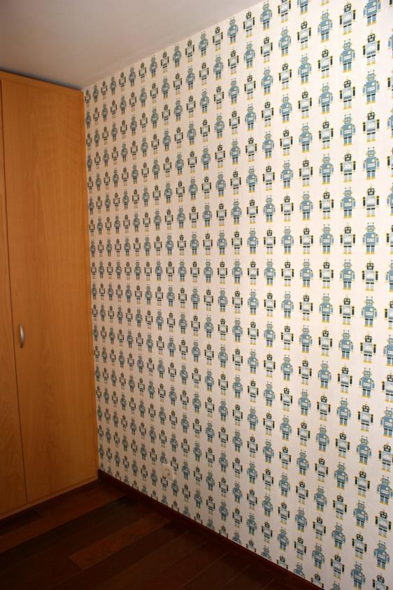 Colocación Papel Pintado Infantil en Barcelona