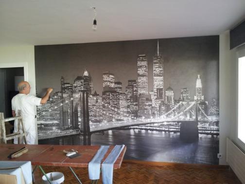Octubre 2013 murales pared - Papel pintado en barcelona ...