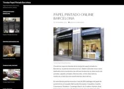 Tienda papelpintadoonline.com Barcelona