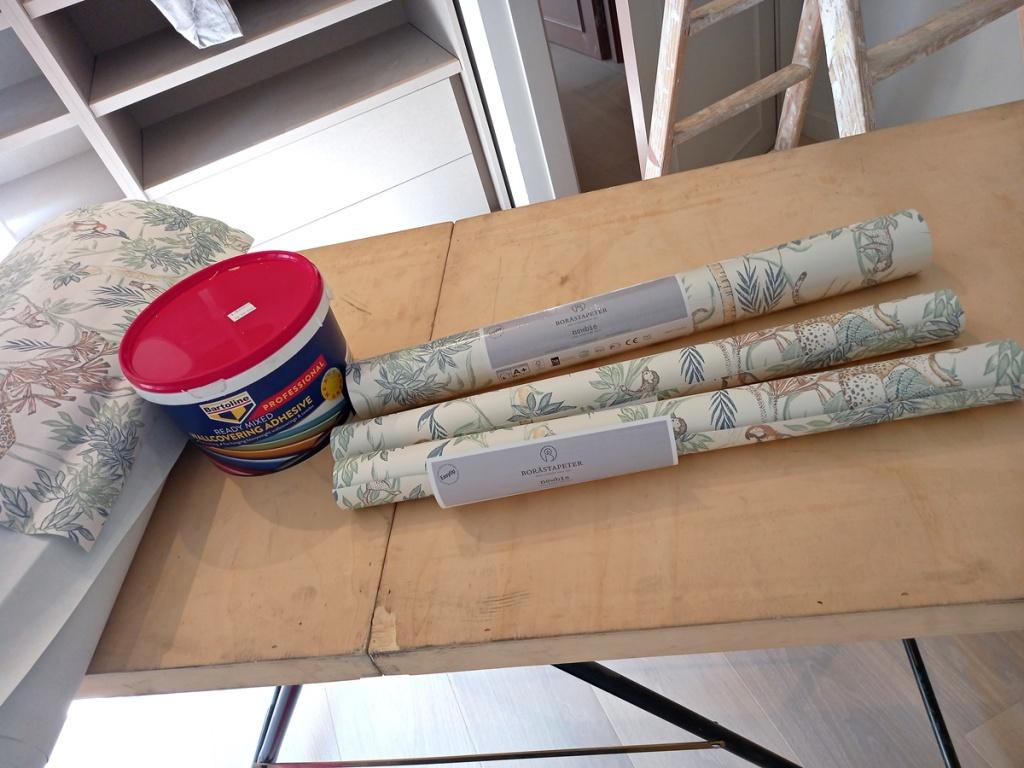 papel pintado borastapeter y cola bartoline r.mix profesional para empapelar